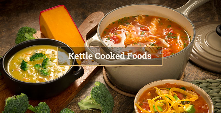 Kettle Cooked Foods
