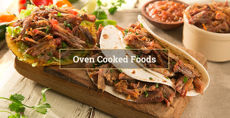 Oven Cooked Foods